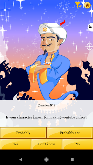 Akinator screenshot for Android