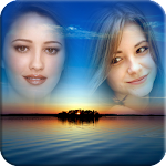 Sunset Multi Photo Frame Apk