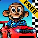 Monkey Racing Free icon