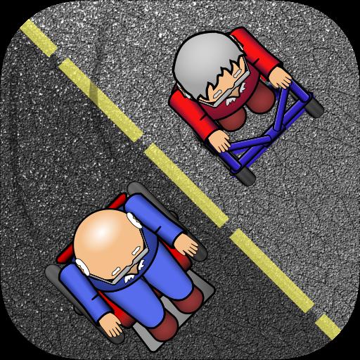 爺爺拉力賽 - 瘋狂崩潰 賽車遊戲 LOGO-玩APPs