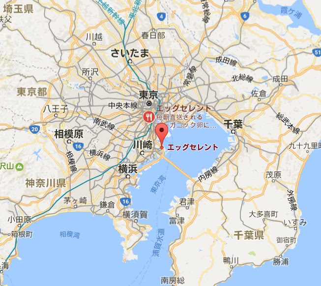 地図:エッグセレント・バイツ