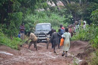 Photo: epic mud, near Mubende