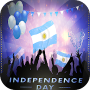 Argentina Independence Day Photo Frame 2018 & Flag