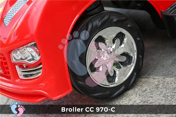 Xe chòi chân Broller CC YH-970C có mái che 3