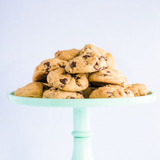 Sea Salt Butterscotch, Tart Cherry And Dark Chocolate Chip Cookies