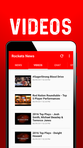 Houston Basketball News: Rockets 1.0.42 screenshots 2