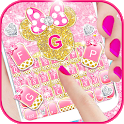 Pink Bow Minnies Keyboard theme icon
