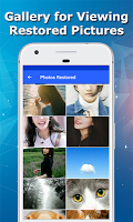 screenshot of Recover Deleted Pictures - Restore Deleted Photos