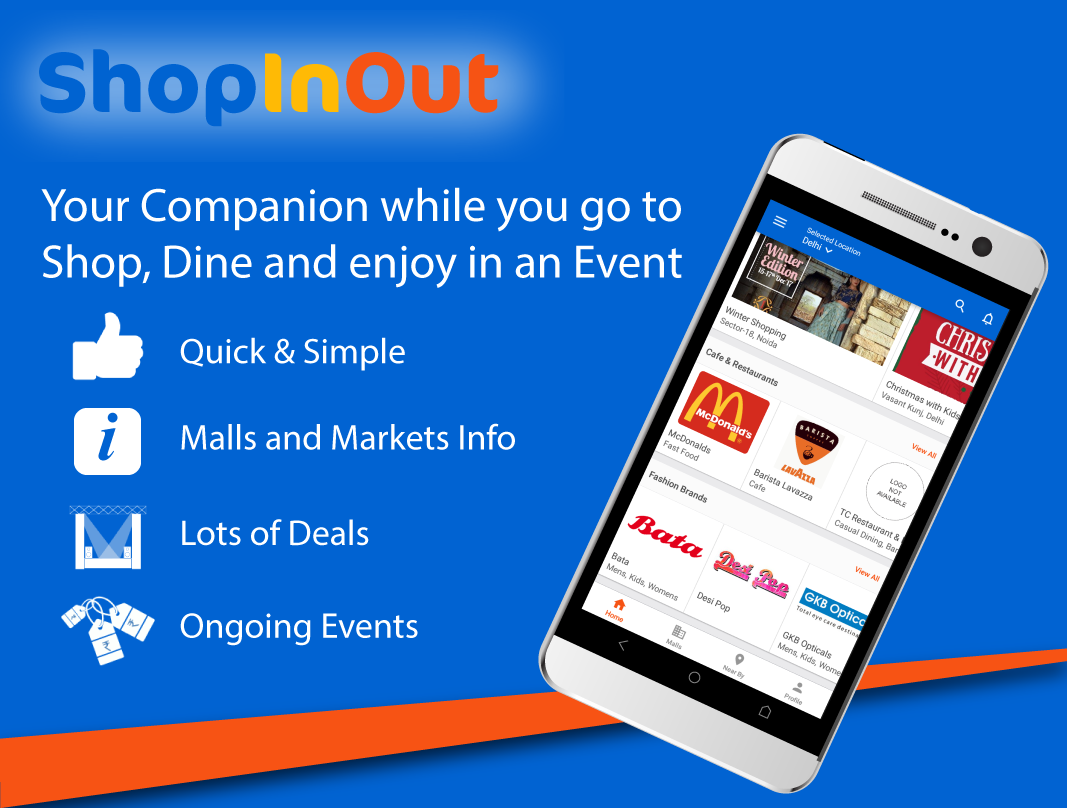 ShopInOut: Find Stores in Mall, Deals & Event info- screenshot