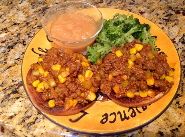 Cafeteria Style Sloppy Joes