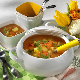 Citrusy Vegetable Soup