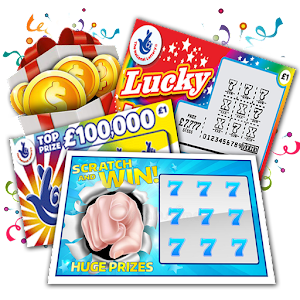 Super scratchers lottery scratch games android apps on google super scratchers lottery scratch games sciox Images