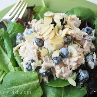 Blueberry Almond Chicken Salad #RecipeRedux