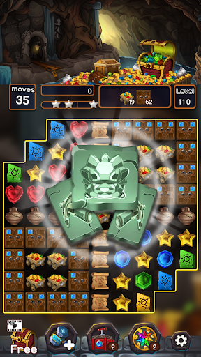 Jewel Mine Quest: Match-3 puzzle apkmr screenshots 2