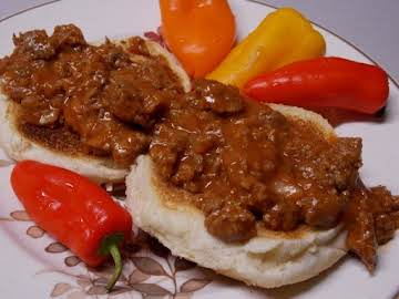School Style Sloppy Joes