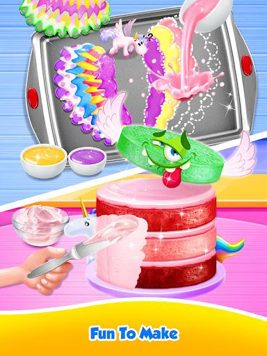 Unicorn Food - Sweet Rainbow Cake Desserts Bakery  {cheat|hack|gameplay|apk mod|resources generator} 3