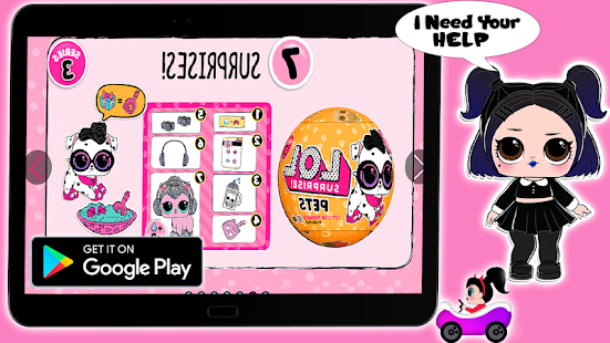 LQL Collectible Game Ball : Dolls Surprise POP 2