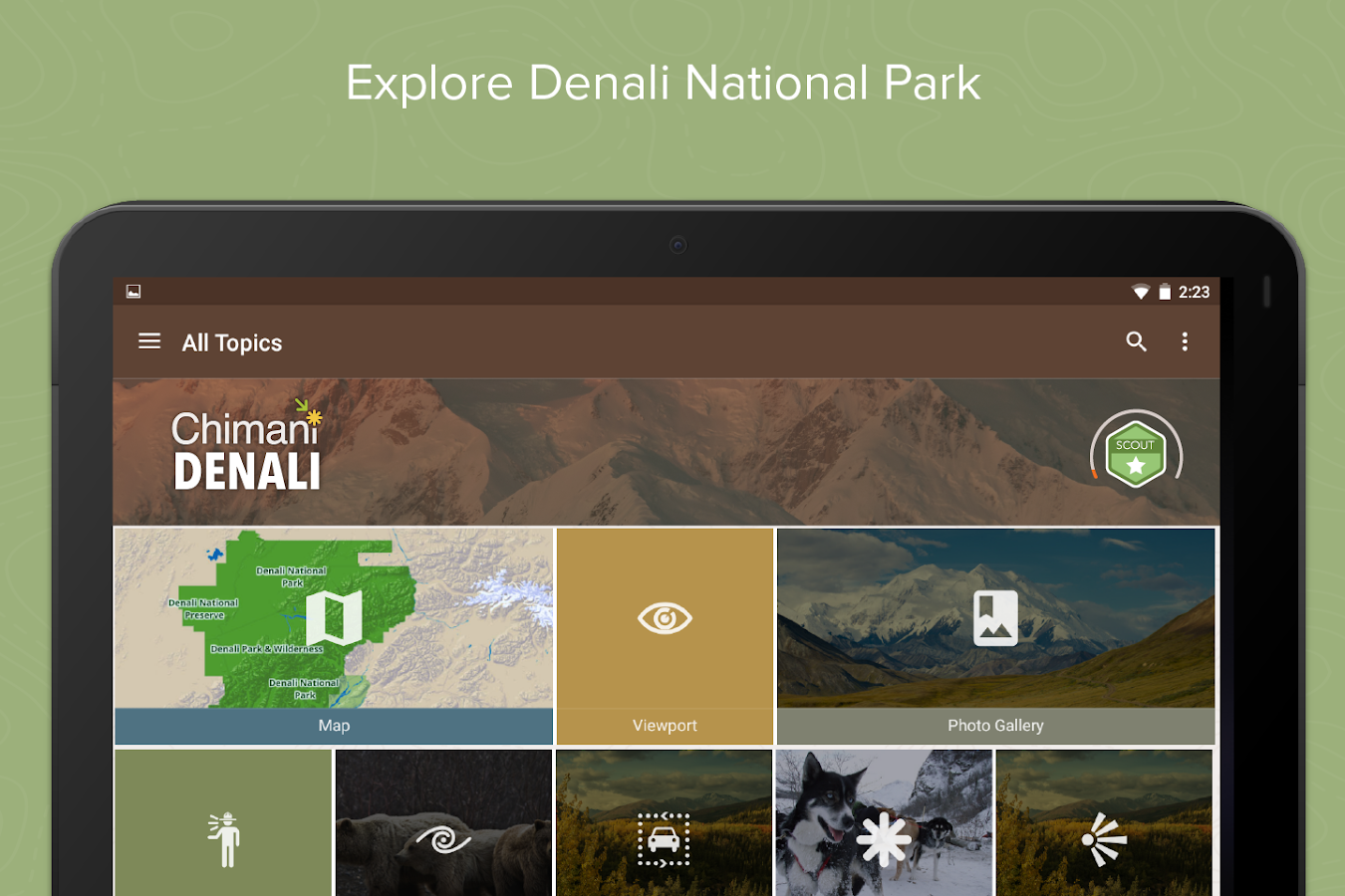 Denali National Park: Chimani- screenshot