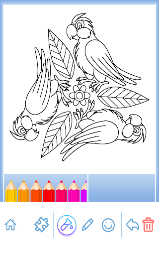 Livre coloriage animal Mandala  captures d'écran 2