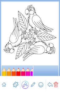 Coloring Book Animal Mandala Screenshot Thumbnail