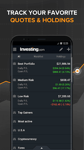 Investing.com: Stocks, Finance, Markets & News 6.3.2 Screenshots 8