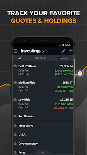 Investing.com: Stocks, Finance, Markets & News App Latest Version Download For Android and iPhone 8