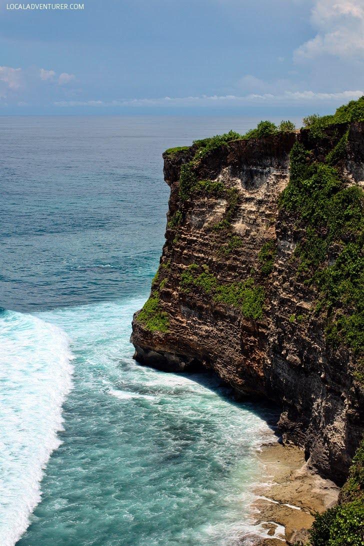Pura Luhur Uluwatu Bali Indonesia.