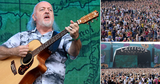 Bill Bailey thanks fans for support as he plays final day of Latitude Festival 2021