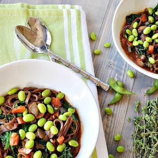 Copycat Soba Noodle Bowl with Edamame