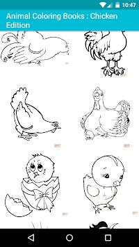 Download Mewarnai Hewan Untuk Anak Anak Menakjubkan Ayam Apk Latest