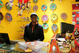 Photo: And even better - the shopping was for a good cause! Monkeybiz are part of a nonprofit income-generating project focused on women's economic empowerment.