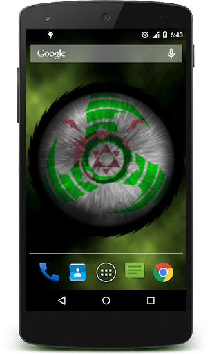 玩個人化App|Sharingan Live Wallpaper Pro免費|APP試玩