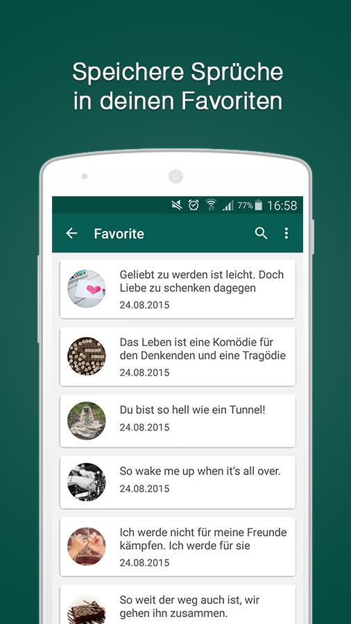 status-sprüche go – android-apps auf google play