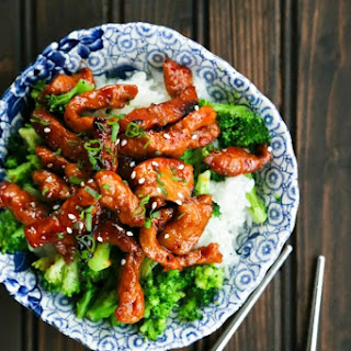 Easy Garlic and Ginger Glazed Sticky Pork