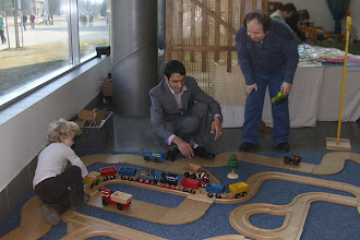 Photo: Servisní zásah při srážce vlaků