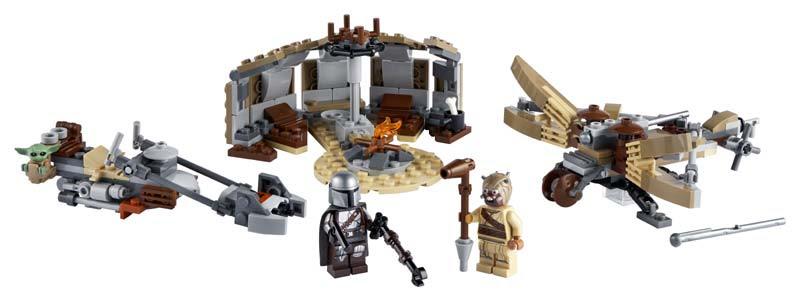 Contenido de Lego® 75299 Problemas en Tatooine