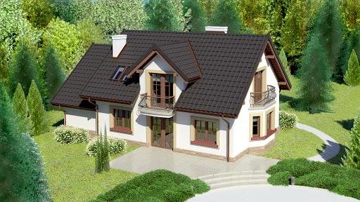 projekt Dom przy Modrzewiowej 12