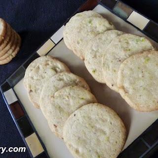 Pistachio Cookies (Egg Less) Recipe
