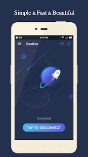 Bestline VPN - Free & Fast & Unlimited & Unblock Screenshot