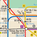 Map of NYC Subway: offline MTA