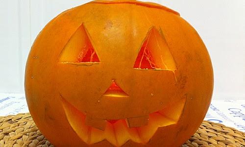 C mo hacer una calabaza de halloween paso a paso - Como hacer calabaza halloween ...