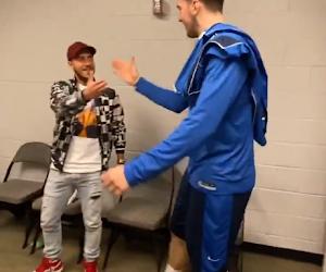 🎥 Dallas Mavericks en weergaloze Luka Doncic krijgen bezoek van Eden Hazard