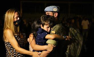 En imágenes: la Legión vuelve a casa tras 8 meses en Líbano