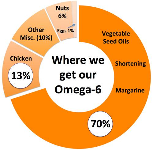 Where we get our Omega-6 fats