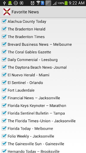 玩免費新聞APP|下載佛罗里达新闻 app不用錢|硬是要APP