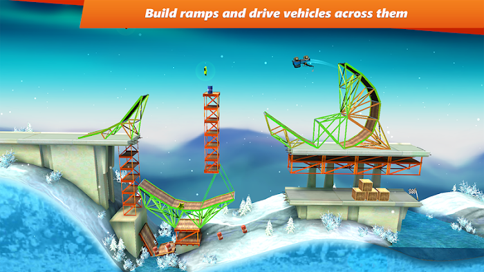 Bridge Constructor Stunts- screenshot
