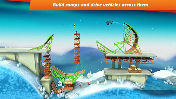 Bridge Constructor Stunts- screenshot