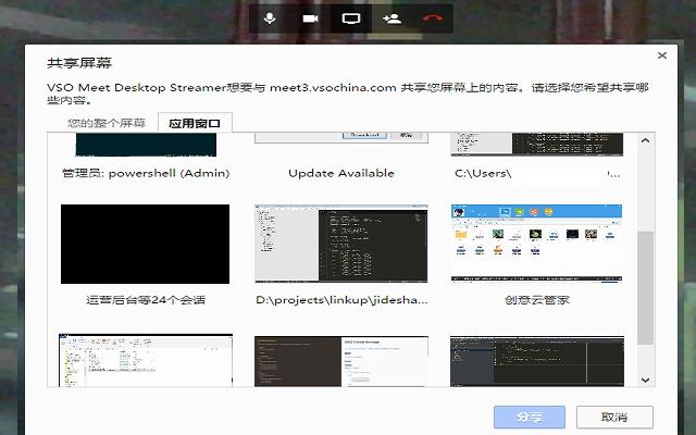 VSO Meeting Desktop Streamer
