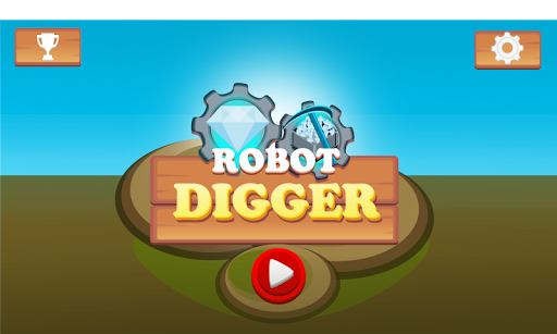 Robot Digger screenshot 1