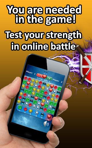 Triada - match 3 puzzle online  screenshots 1